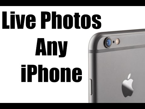 How to Get Live Photos on Any iPhone, iPad, iPod Touch