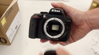 Nikon D3400 Unboxing - Review of what you get in the box