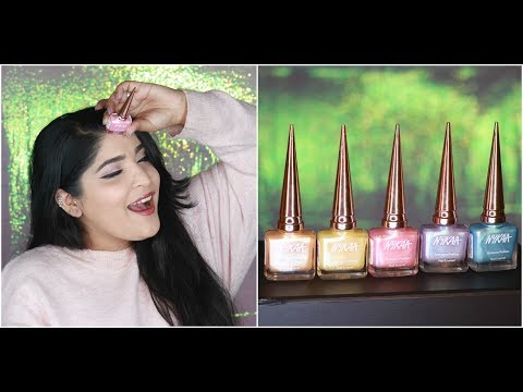 *NEW* Nykaa Unicorn Potion Nail Paint Review And Swatches | All Shades | Shreya Jain
