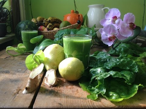 Ginger Lemon Pear Swiss Chard Juice ~ Refined Recipe