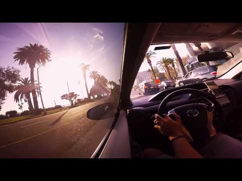 Awesome Drive on PCH from Santa Monica to Malibu [HD]