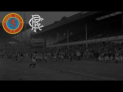 Aston Villa v Rangers 1976 - Crowd Trouble Reaction