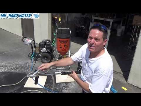 How to Clean and Maintain your Hopper after Wet Blasting Pool Tile