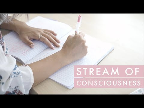 Journaling: How to Write Stream of Consciousness ✏️