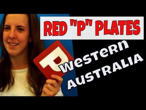 Red P Plate Rules WA - Restrictions on Provisional Licence Western Australia