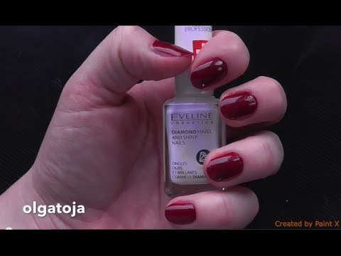 How To Grow Long And Strong Nails // Eveline Diamond Hard And Shiny Nails Nail Therapy - Review
