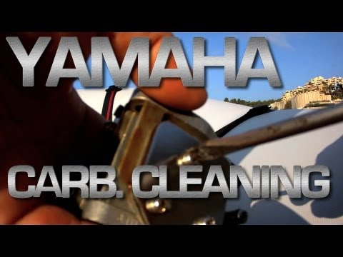 Yamaha Outboard Cleaning Carburator