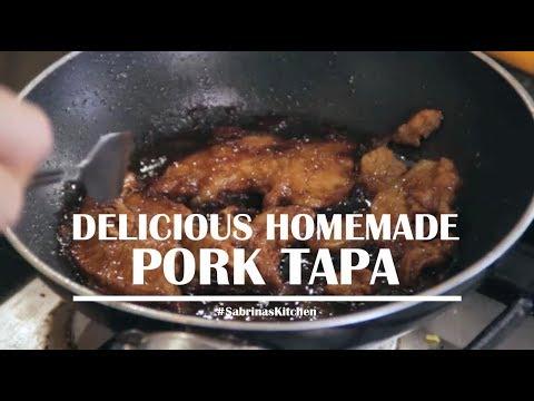 Delicious Homemade Pork Tapa