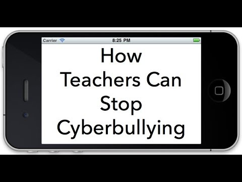 How Teachers Can Stop Cyberbullying