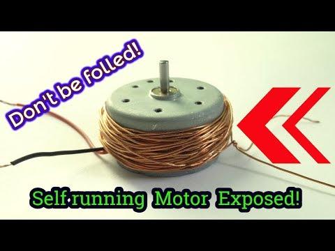 Self running motor Exposed