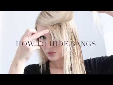 TUTORIAL | How To HIDE YOUR BANGS!