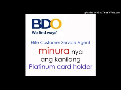BDO Unibank (Banco de Oro) NagMURA sa customer (MAY-07-2015)
