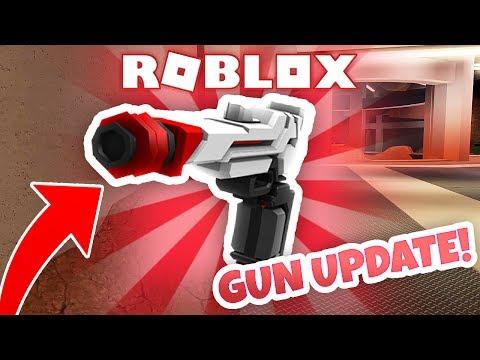 NEW GUN UPDATE! (Roblox Jailbreak)