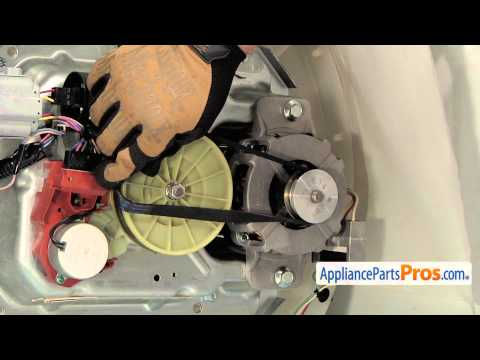 Washer Drive Belt (part #WPW10006384) - How To Replace