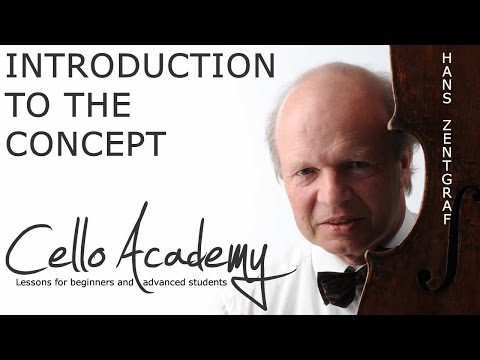 How to Play Cello: Introduction in the cello-academy-concept