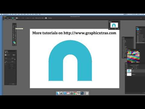 How to change the fill color of Photoshop custom shapes - part 1 (Intermediate) tutorial