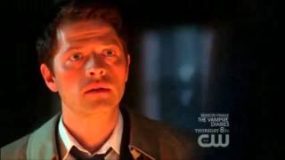 Cas tells Dean hes working with Crowley [6x20]