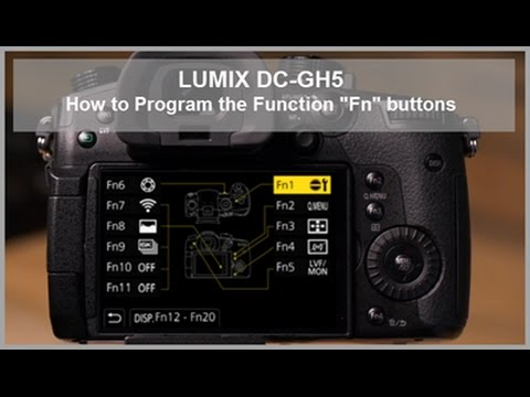 LUMIX - How to Program the Function