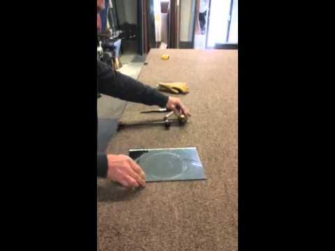 Cutting mirrors - Plimoth Glass