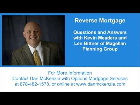 Reverse Mortgage Question and Answer Radio Broadcast