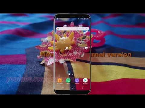 Android Nougat : How to Find Kernel version in Samsung Galaxy S8 or S8+