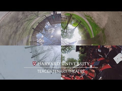 Home for Harvard's Commencement: Tercentenary Theatre in 360°