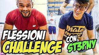 FLESSIONI CHALLENGE CON ST3PNY • Cheto Da Bro 07