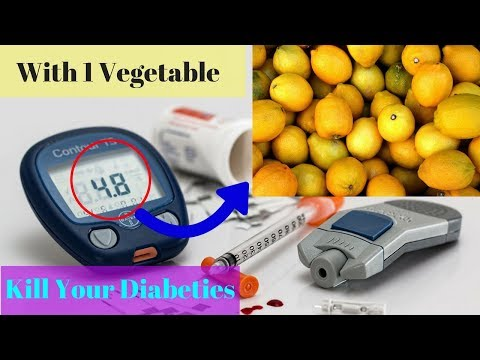 Only 1 Vegetable Kills your Diabetes Naturally|| The Benefits of Lemons on Blood Sugar||Food bank