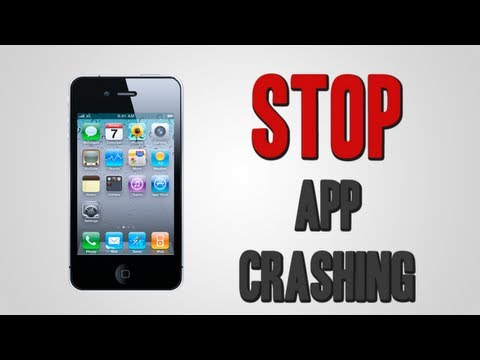 Stop App Crashing | iPhone, iPod Touch, & iPad
