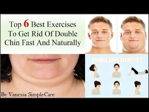 Top 6 Best Exercises On How To Lose Double Chin Fast And Naturally