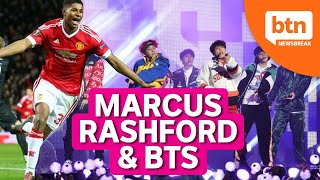 Marcus Rashford Campaign and BTS Breaks Record for Paid Virtual Concert