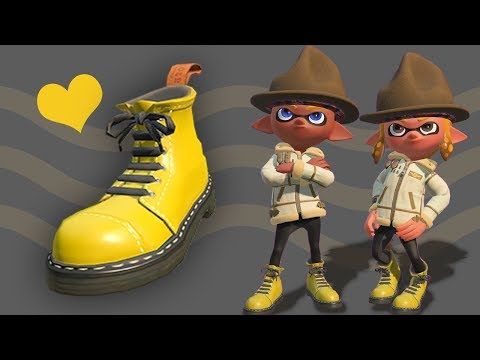 WHY CAN'T I FIND THESE?! (The Great Splatoon 2 Boot Caper)