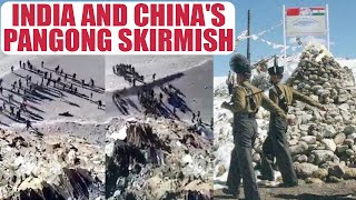 Sikkim Stand off : Pangong skirmish video surface, Watch | Oneindia News