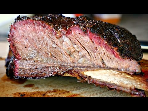 SMOKED BEEF RIBS - Amazing Barbecue Recipe !!