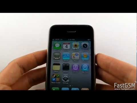 How To Unlock iPhone 3GS
