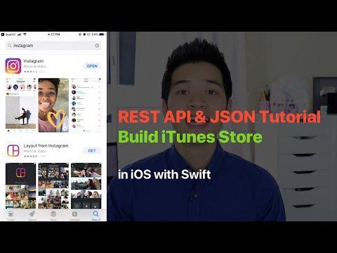REST API & JSON TUTORIAL: BUILD iTUNES STORE SEARCH APP