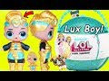 Big Luxe Gets New Big Lil Brother LOL Surprise Dolls Boy
