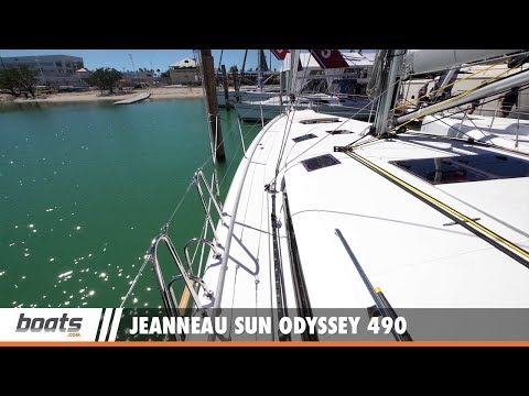 Jeanneau Sun Odyssey 490: First Look Video