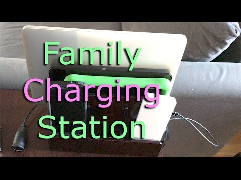 Family Charging Station AC or DC (solar?)