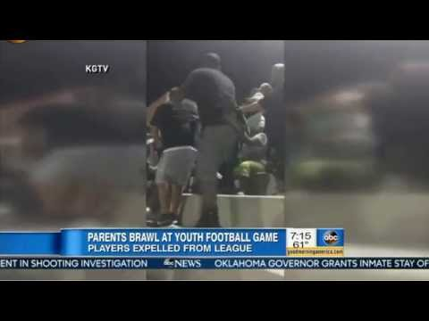 Parents Fight at Football Game Stands and Students get Expelled FAIR?