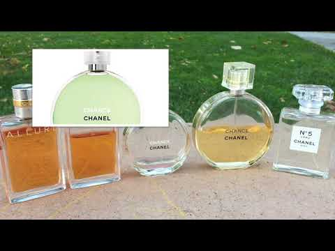 Chanel Perfume Collection
