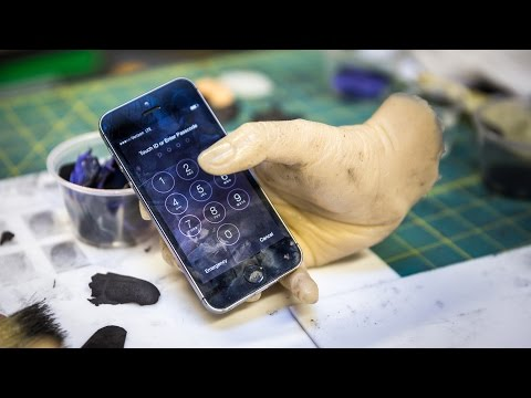 Testing Apple's Touch ID with Fake Fingerprints