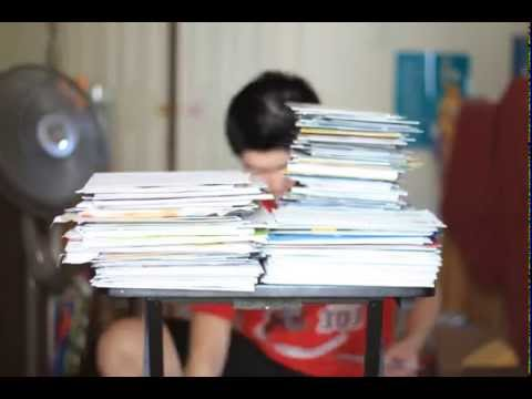 Time Lapse: Mail from Colleges