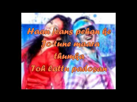 Balam Pichkari - Official Song Lyrics | lyrics on screen | yeh jawani hai deewani | Allin1lyrics