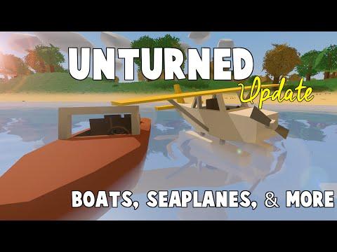 Unturned Update 3.14.2.0: Seaplane, Speedboat, JetSkis & More!
