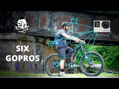 MTB GoPro Overload! | 6 Cameras and 3D Printed Brackets