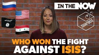 In Syria, ISIS is out. But who gets bragging rights?