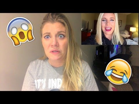 REACTING TO OLD VLOGS 😂