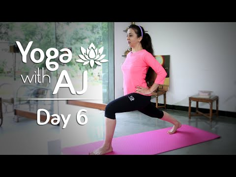 Yoga For Hips And Thighs | Day 6 | Yoga For Beginners - Yoga With AJ