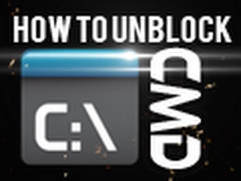 How to access the Command Prompt when its blocked